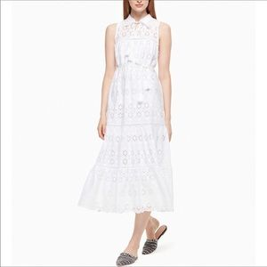 NWT Kate Spade Spice Things Up Eyelet Patio dress